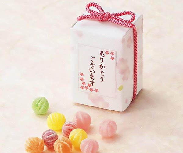 退職時に配るお菓子『飴(キャンディー)』※ハーティファクトリー「さくらBOX」