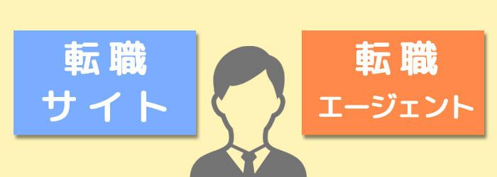 転職サイトと転職エージェントを活用する